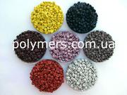 Вторичная гранула: ПЭВД 1 сорт,  ПС полистирол,  ПП вторичный,  РЕ100,  РЕ