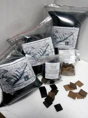 Активированный уголь для очистки дистиллята.